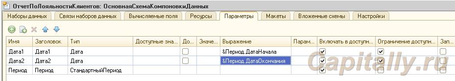 СтандартныйПериодВПараметрахЗапроса